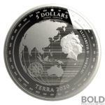 2020 Tokelau Terra 1 oz Silver Proof-Like by BOLD Precious Metals