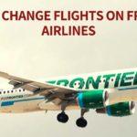 How to Change Flights in Frontier Airlines