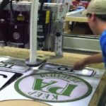 How Heritage Printing makes Custom Cut Metal Signs in Charlotte NC and Washington DC
