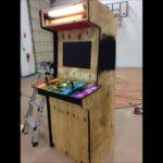 Custom Computer Arcade Game Cabinet