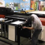 How Heritage Printing makes Foam Core Signs using a Large Format UV Curable Printer and CNC Cutter