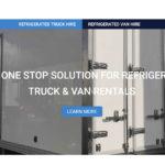 Refrigerated cargo van rental | Refrigerated truck rental cost