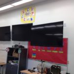 Pull Down TV Mounts For The Classroom | Dynamic Mounting