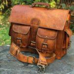Buy men's leather laptop bags at Cuero bags.